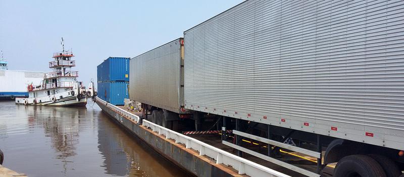 transporte fluvial belem manaus transamazonas